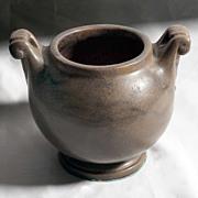 Arts and Crafts Hand Formed Urn Vase
