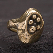 Modernist Cast Ring