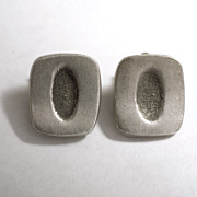 Supremely Modernist 1970's Swedish Earrings