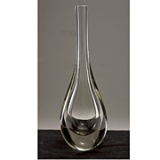 Modernist 20th Century Scandinavian Drop Vase