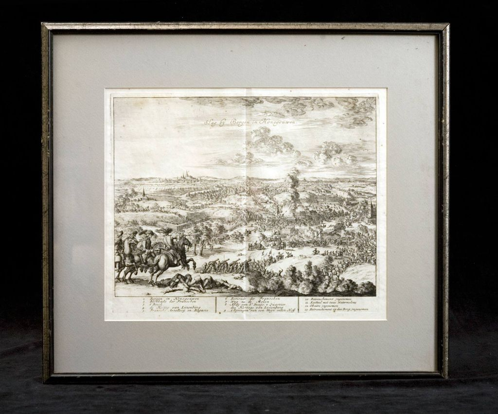 17th Century Etching by Dutch Artist Jan Luyken (1649-1712)