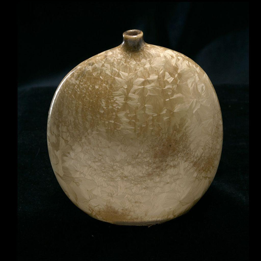 Magnificent Herbert Sanders (1909-1988) Crystaline Luster Vase