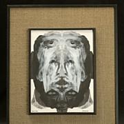 "Painting by Richard Kirsten Daiemsai ""Shifting Mind Image"""