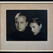 Jose Reyes of Hollywood Photograph Portrait, circa 1930's-40's
