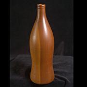 Vintage Turned Redwood Bottle Sculpture