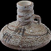 Fabulous Mid Century Israeli Ceramic Jug Vase