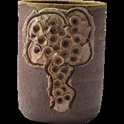 Rare Mid-Century Vase by Bodil Marie Nielsen, Denmark