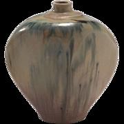 Vintage Tom Krueger Drip Ceramic Vase