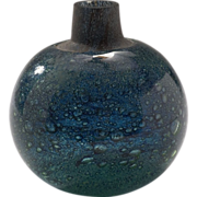 California Studio Art Glass Experimental Vase