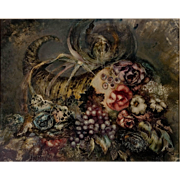 """Marjorie Allen Oil Painting """"Cornucopia"""""""