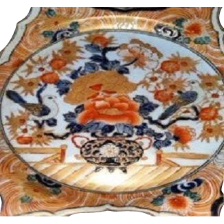 PAIR-Antique IMARI Antique Chargers-Fabulous 10 1/2""