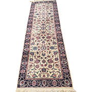 """Lovely Pak-Persian TABRIZ Oriental Rug, Hand Woven using fine Wool dyed with  natural dyes, and has Cotton foundation-2'8"""" X 8'-free shipping"""