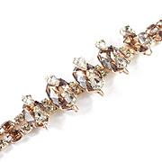 Kramer of New York Cantilevered Rhinestone Bracelet