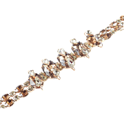 Kramer of New York Cantilevered Rhinestone Bracelet