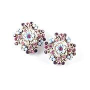 Florenza Bead Rhinestone Earrings