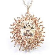 Tancer II Lion Pendant Necklace