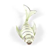 Capri Enamel Rhinestone Fish Figural Brooch Pin