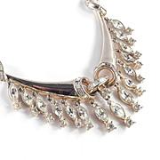 Coro Corocraft Rhinestone Fringe Necklace
