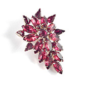 Tammey Jewels Rhinestone Brooch Pin