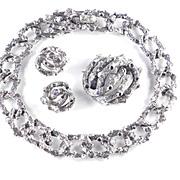 Marcel Boucher Necklace Brooch Pin Earrings Parure Set