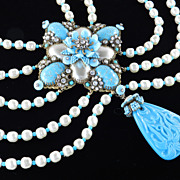 Ian St. Gielar Stanley Hagler Unique Grand Baroness Necklace
