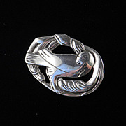 Sterling Silver Bird Brooch Pin