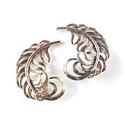 Elsa Schiaparelli Leaf Earrings