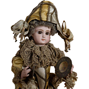 Incredible Lambert Polichinelle Automaton with Gorgeous Jumeau Head