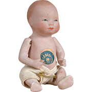 Tiny All Bisque Bye-Lo Baby - 4 Inch
