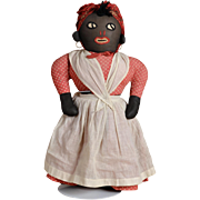Folk Art Mammy Rag Doll - 20 Inches