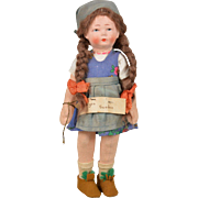 Bing Character Child Doll in Provincial Costume -  8 Inch