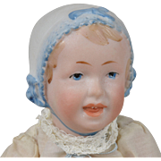 R. A. Character Baby with Molded Bonnet