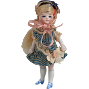 Wonderful Mignonette All Bisque Doll - 4 inches tall