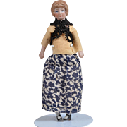Dollhouse Mother All Original - 5.75 inches tall