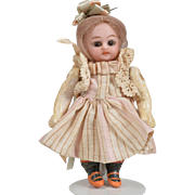 Tiny German Doll with Bisque Head - 4 Inches