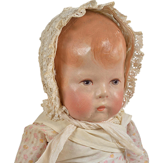 Sweet Kathe Kruse Doll 1 with Wide Hips - 16 Inches