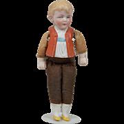 Half-Bisque Hertwig Boy - 5.5 Inches