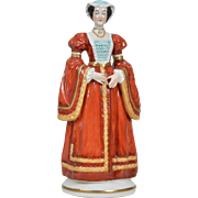"Sitzendorf ""Anne of Cleves""  Figurine - 8 inches"