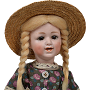 All Original Heubach 5636 Laughing Character Doll - 10.5 Inch