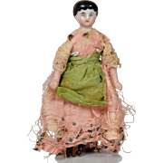 4.25 Inch China Doll-Unusual Hairstyle