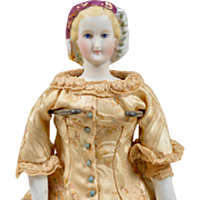 Wonderful Small Empress Eugenie Parian - 10.25 Inches