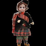 All Original Scottish Boy Doll - 5 Inches