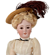Lovely S & H 1159 Lady Doll - 21 Inches