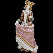Fine German Porcelain Queen Figurine - 12.25 Inches