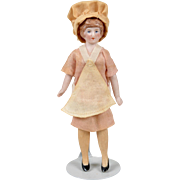 German Dollhouse Cook - 4.75 Inches