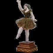 Beautiful All Original Dressel & Kister Ballerina - 8 Inches