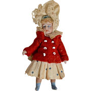 Adorable All Bisque Les Lilliputian All Bisque- 2.5 Inches