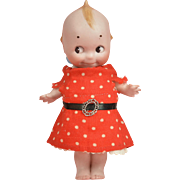 Rose O'Neill 9 Inch All Bisque Kewpie with Labels