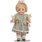 Cute All Bisque Kestner Googly - 6.5 Inches tall