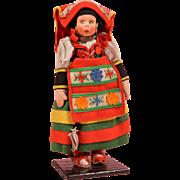 All Original Mascotte Lenci Girl - 9 Inches